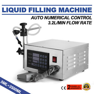 Lt130 Auto Filler Liquid Filling Machine Accurate Freely Switch