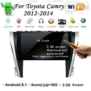 Android 8 1 Car Dvd Player Gps Navigation Wifi Radio For Toyota Camry 2012 2014