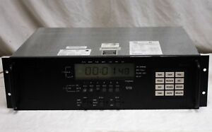 Simplex 6400 9004 19 Rack Mount Master Clock Time Control Center Tested