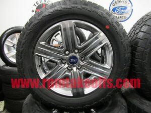 New 2018 Ford F150 F 150 20 Sport Takeoff Wheels And Tires Set Of 4