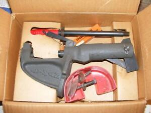 USED LYMAN SPARTAN RIFLE PISTOL RELOADER RELOADING PRESS IN ORIGINAL BOX