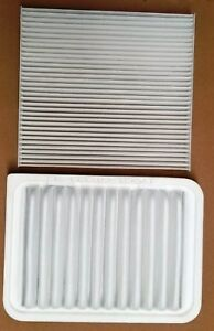 New Set Cabin Air Filter And Engine Air Filter For Toyota Corolla Matrix Yaris