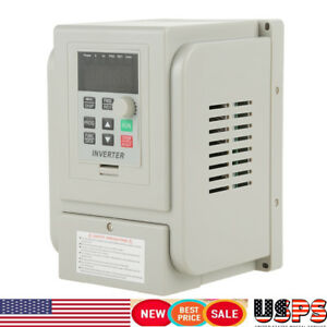 Frequency Drive Vfd Single Phase Inverter Speed Controller For 3 phase Motor Us