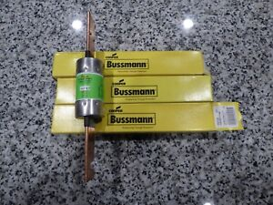 New Lot Of 3 Bussman Frs r200 Dual Element Time Delay Class Rk5 Fuse