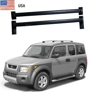 For Honda Element 2003 11 Roof Rack Cross Bars Bolt On To Factory Hole Oe Style