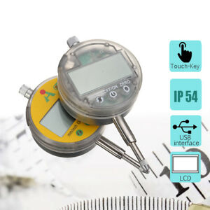 0 01mm 0 0005 Range 0 12 7mm 1 Gauge Digital Lcd Dial Indicator Precision Tool