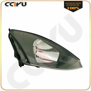 Passenger Side Head Lamp Headlight With Bulb For 2003 2004 Ford Focus W o Svt