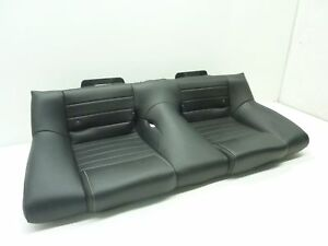 2013 2014 Ford Mustang Rear Seat Lower Bottom Cushion Leather