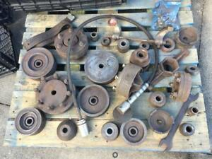 Used Ammco Brake Lathe Adapters 4000 With Gm Kent Moore Dealership Adapters