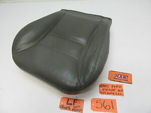 05 07 Ford Escape Seat Base Bottom Cushion Leather Grey Oem Front Left Lf Lh L