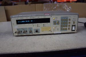 Nf Electronic Instruments 5010a Frequency Response Analyzer