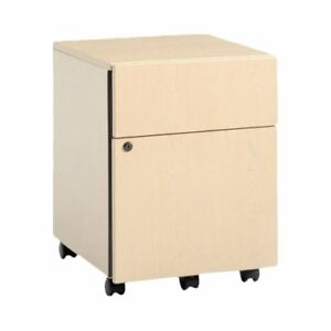 Steelcase 3 drawer Mobile Classic Payback Box file Pedestal
