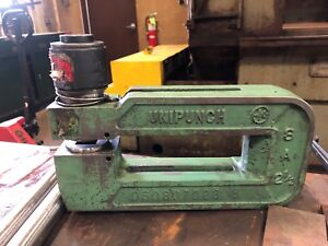 Unipunch 8a 2 1 2 C frame Punch Press Die Tool
