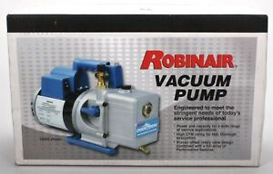 Robinair Vacuum Pump Model 15600 H93 028 1 2 Hp 115v Two Stage Motor New