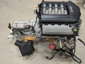 2011 Mustang Gt 5 0 Coyote Engine Liftout W At 6r80 Trans 88k Miles Video