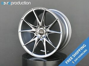 Inovit Speed Wheels Rims 19x8 5 Inch Gunmetal For Acura Rsx Tsx Ilx Tl Cl Types