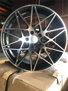 Bmw 19 M Sport Style Wheels For 3 4 5 Series Xdrive Black Machined Face