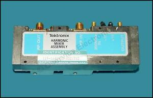 Tektronix 119 1640 01 Harmonic Mixer Assembly For 495 Series Spectrum Analyzer
