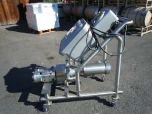 Waukesha Cherry burrell U 30 Explosion Proof Positive Displacement Lobe Pump