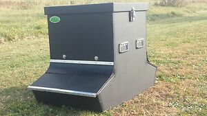 Heavy Duty Long Lasting Hog Pig Feeder 4 Bushel 4 Slot
