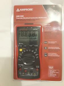 Amprobe Am 530 Trms Electrical Contractor Multimeter