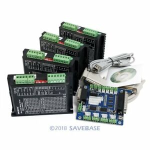 Cnc Kit 4 Axis Controller Board Engmate Stepper Motor Driver Ema2 050d56
