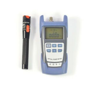 Fiber Optical Power Meter And 10mw Visual Fault Locator Cable Tester Tool
