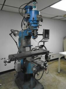 Bridgeport Series 1 2 Hp Variable Speed Vertical Mill W Dro Clearance Price