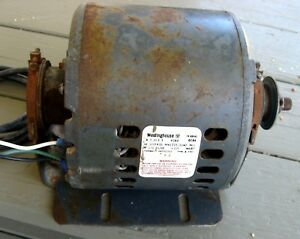 Rle Electric Motor 1 3hp 1725rpm 115 Volt Westinghouse Compact