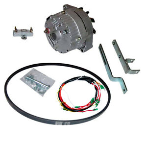 New Alternator Ford 600 4000 Tractor Generator Conversion Kit 5564 10300alt