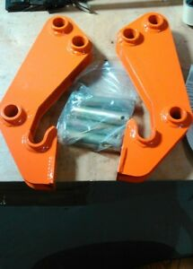 Kubota M1067 Bucket Bracket Kit Converts Bucket To Quick Attach
