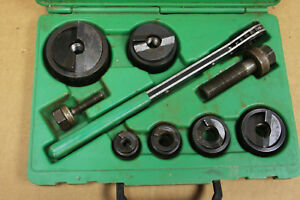 Greenlee Slugbuster 7238sb 1 2 2 Ratcheting Knockout Punch Set 332