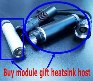 445nm 2w Blue Diode Laser Module gift Focusable Diy Heatsink Host
