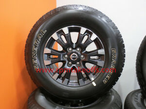 New 2018 Nissan Titan Xd 18 Takeoff Wheels And Tires Set Of 4