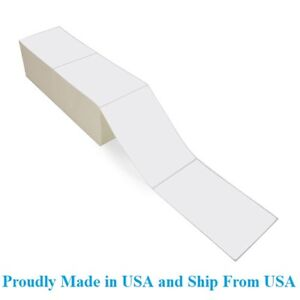 2000 Fanfold 4 X 6 Direct Thermal Labels Shipping Barcode Labels Zebra Ups