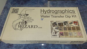 Dip Wizard Hydrographic Film Dip Kit 12 Oz Glamoflauge Pattern