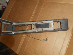 1967 1968 Mercury Cougar Ford Mustang Console Base W Top Plate