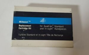 Midwest Replacement Turbine Cartridge Quiet Air In Sight Standard Handpiece