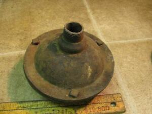Vintage Original Cast Iron Hit N Miss Gas Engine Muffler 3 4 Pipe Threads