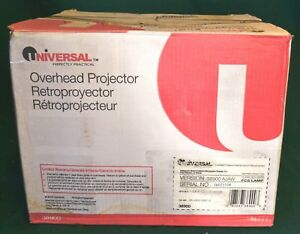 New Universal Model 38900 Portable Overhead Projector