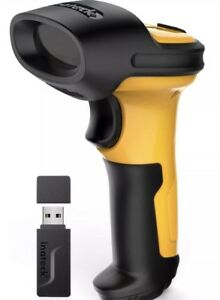 Inateck P6 y 2 4ghz Wireless Laser Barcode Scanner 2600mah Battery 60m Range