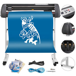 Vinyl Cutter With Stand Printer Sticker 53inch Industry Supply 2 Years Warranty