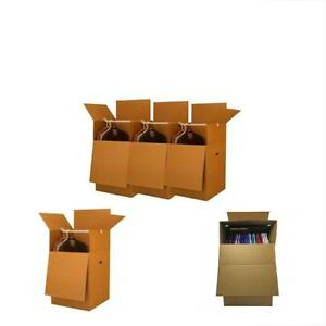 Box Mailers Uboxes Larger Wardrobe 24 40 inches Moving Boxes Bundle Of 3