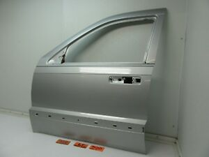 05 07 Jeep Grand Cherokee Left Front Door Panel Shell Silver Driver L Lh Lf Oem