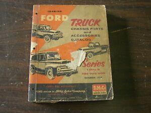 Original Ford 1948 1955 Truck Pickup Master Parts Book F100 1951 1952 1953 1954