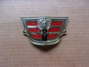 New 1956 Dodge Coronet Royal Custom Sierra Grille Or Trunk Medallion Emblem