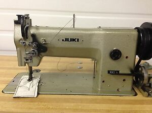 Juki 280l Leather Walking Foot Big Bobbin rev Industrial Sewing Machine