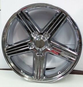 Gm Iroc Wheel 20 Inch American Racing Chrome 20 X 8 Rim 1 Qty 148c 28610