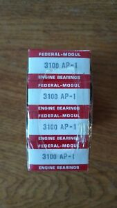 Ford 289 302 Nos Federal Mogul Connecting Rod Bearings 3100 Ap 1