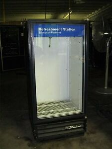 True Gdm 10 Commercial Glass Door Beer soda Cooler Merchandiser